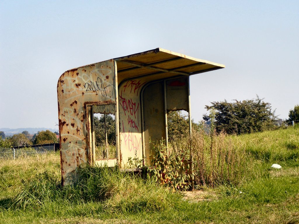 The Derelict Bus Stop Ingleburn NSW
