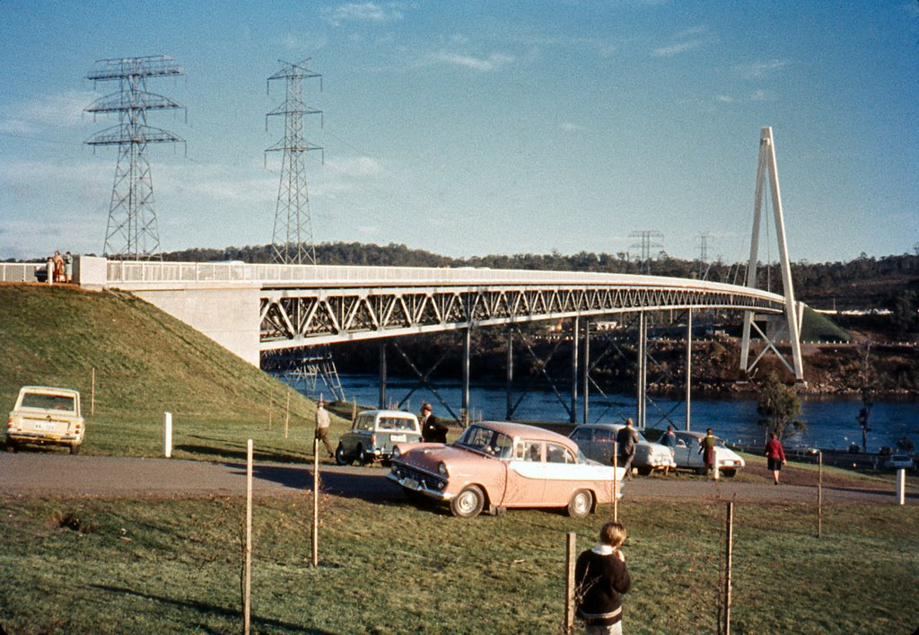 Batman Bridge from east bank, 1968