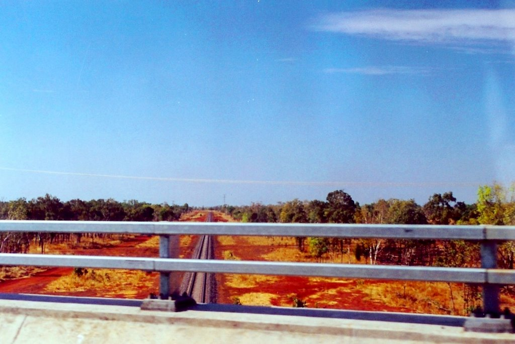 view from the road to WA, the Ghan