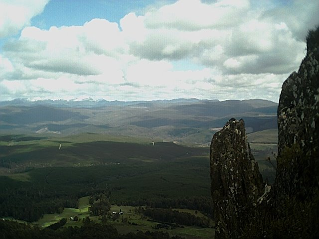 Mt Field National Park, view from Mt Lloyd fire tower