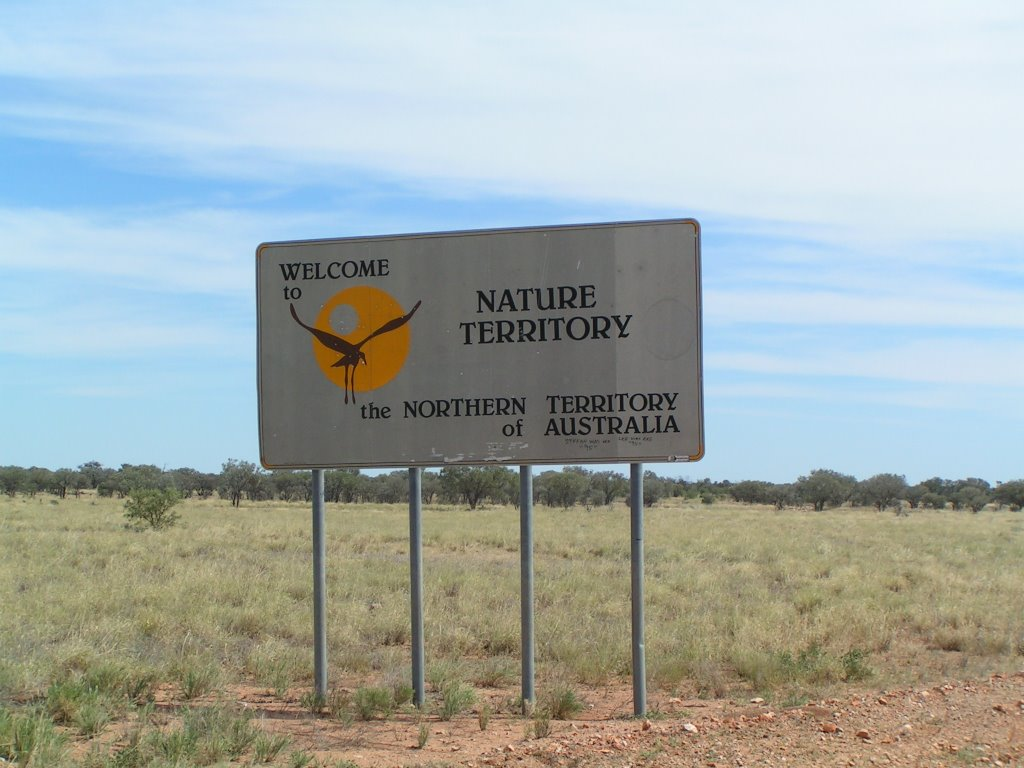 Entering Northern Territory