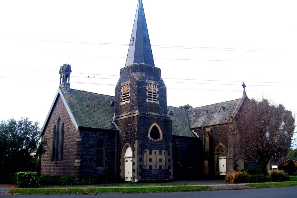 Anglican Church - Camperdown, Victoria