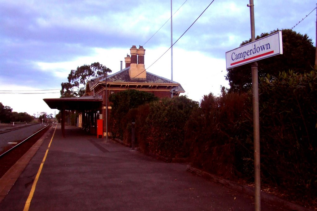 Rail Station - Camperdown, Victoria