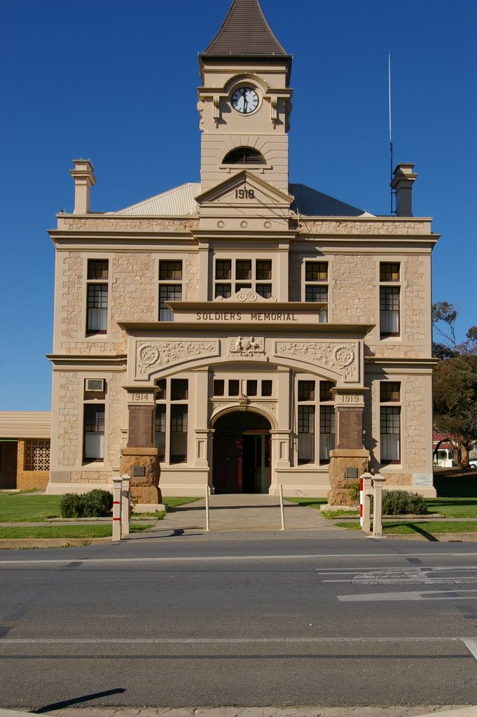 Soldiers Memorial Hall Wallaroo