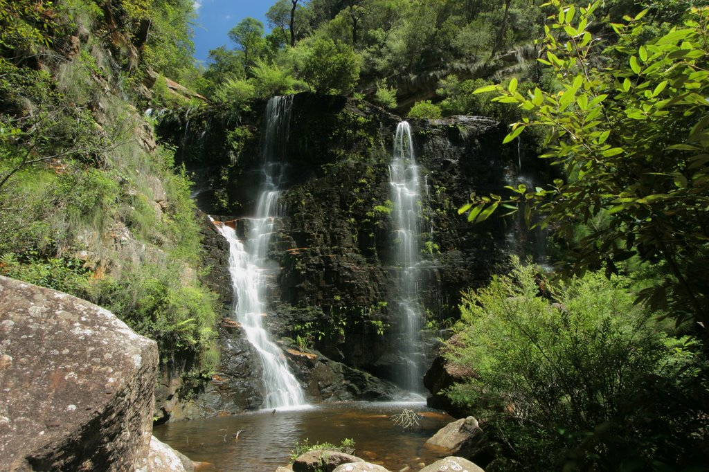 Beauchamp Falls in Blue Mountains National Park