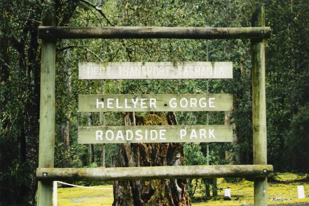 Hellyer Gorge