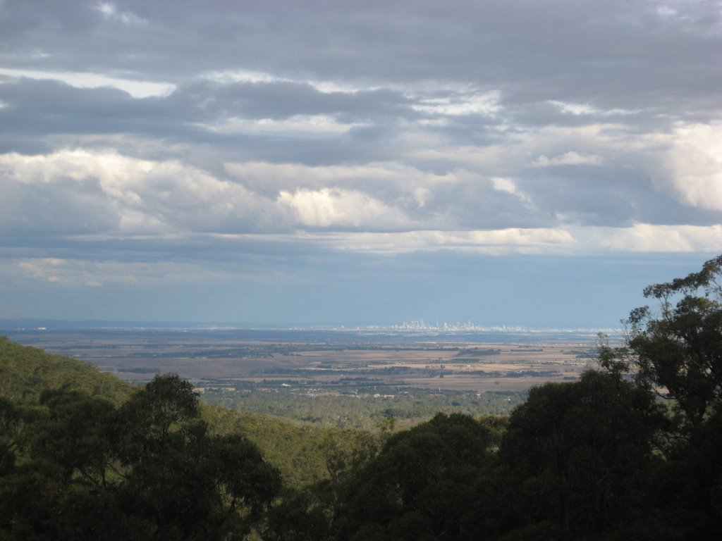 Cherokee view of Melbourne