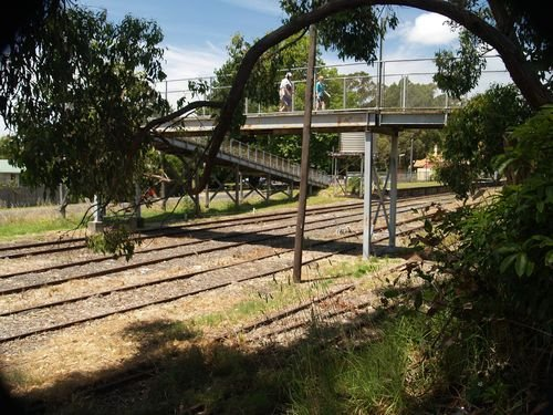 Leongatha Railyards 28/12/2005
