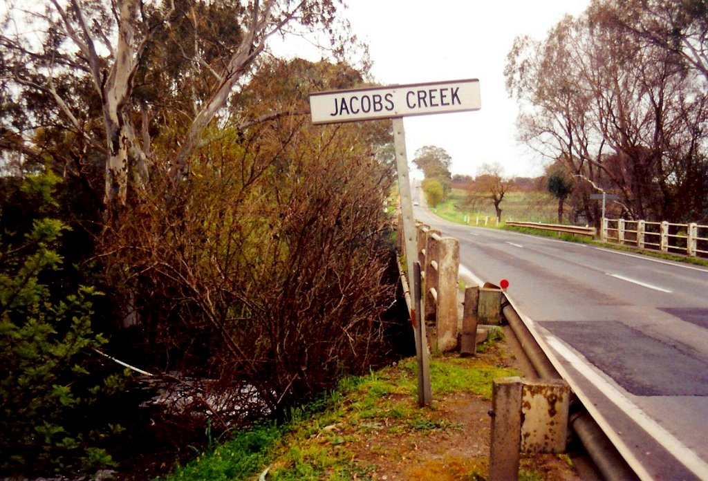 no wine down there, in Jacobs Creek