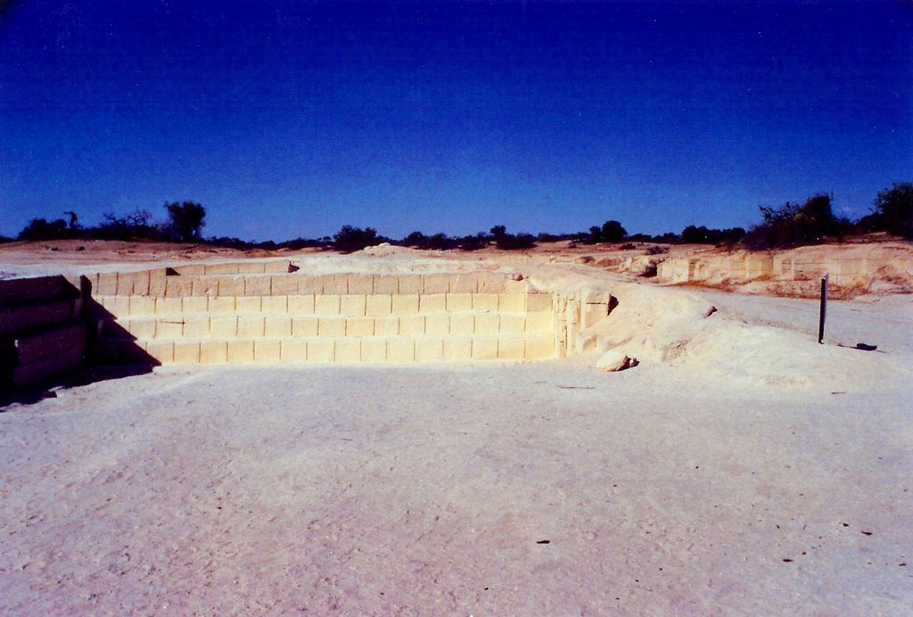shell quarry, Hamelin Pool
