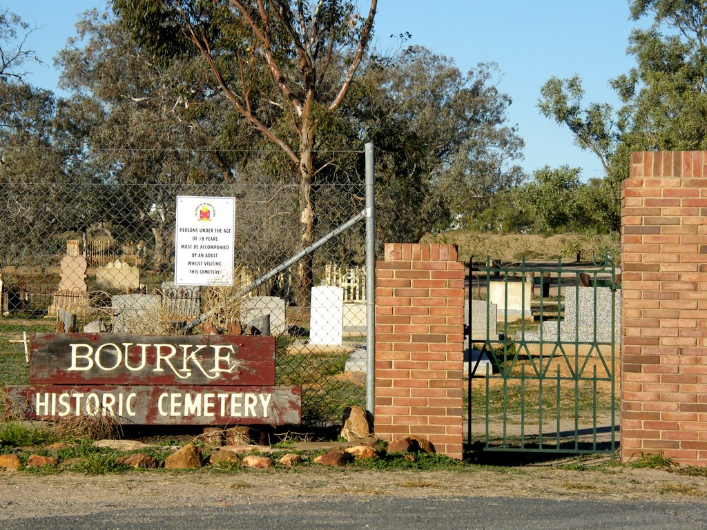 Historic Cemetery - Bourke, NSW