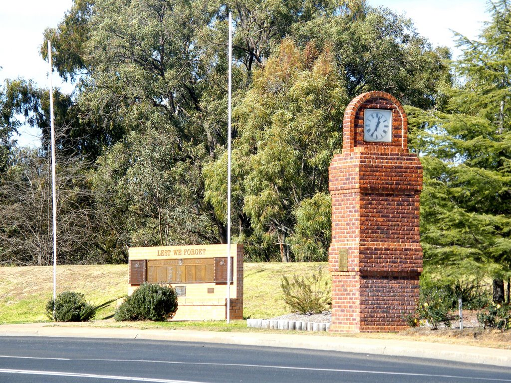 Clock Tower - Gilgandra, NSW
