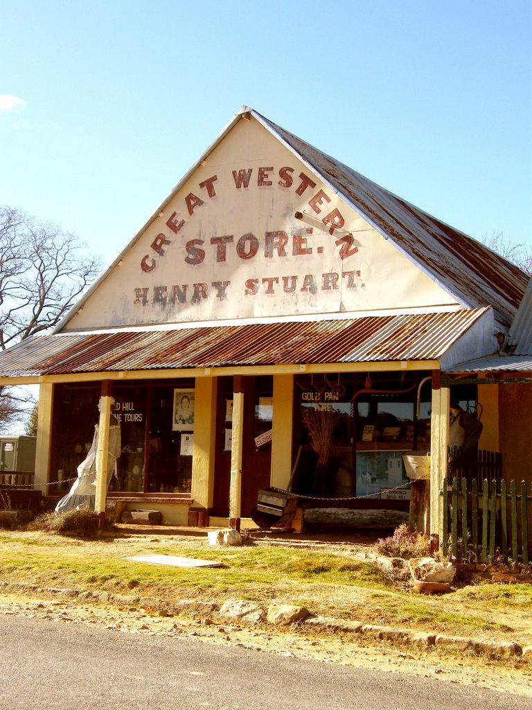 General Store - Hill End, NSW