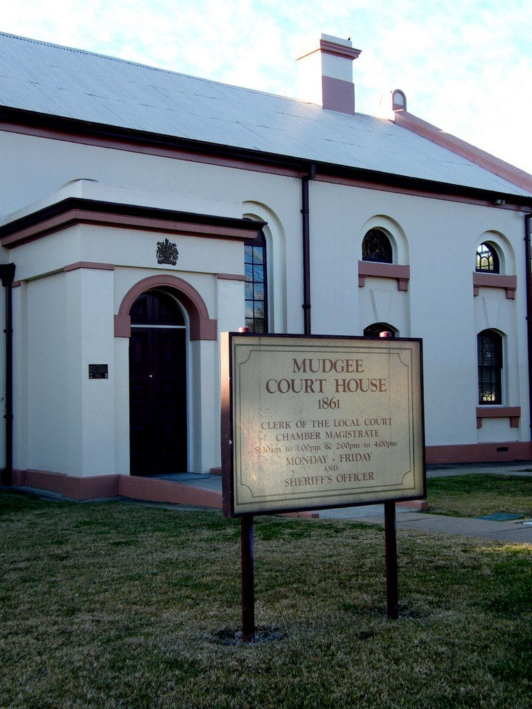 Courthouse - Mudgee, NSW