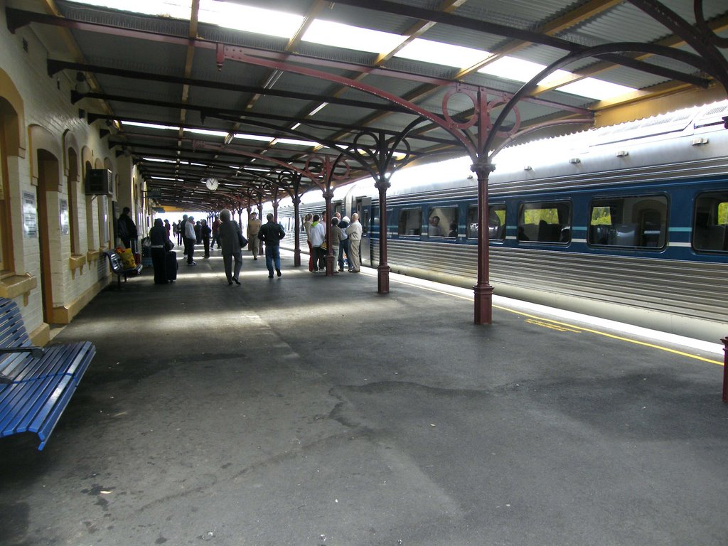 Rail Platform - Orange, NSW