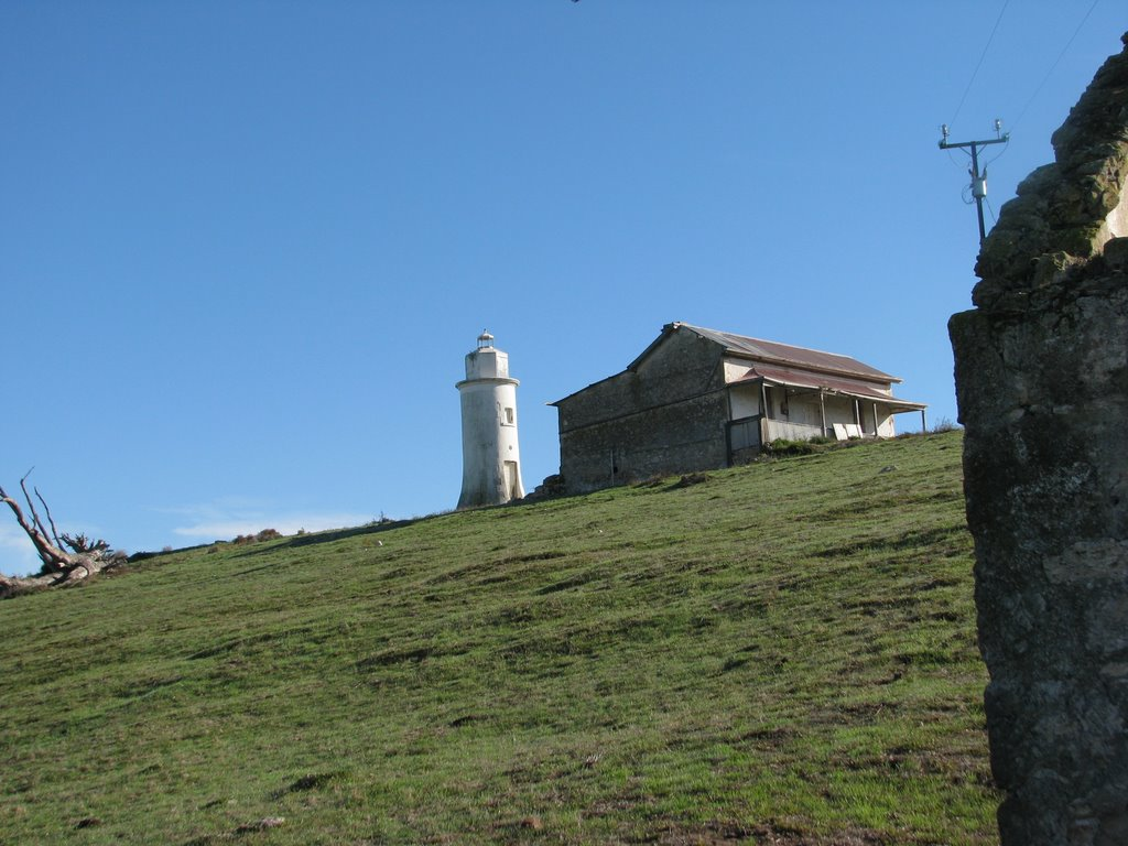 Lighthouse at Point Malcolm