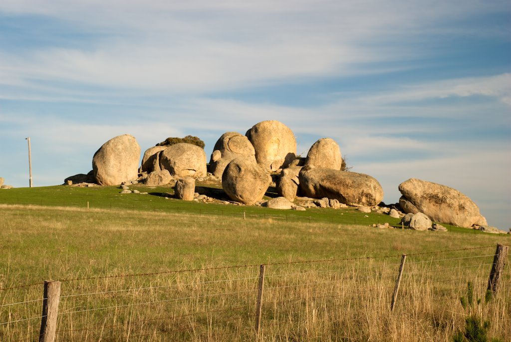 Heathcote rocks