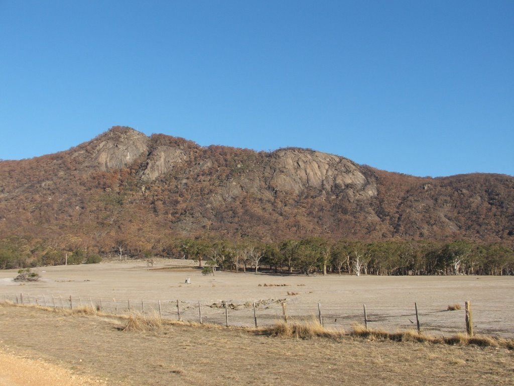 Mt Ben Nevis in western Victoria - a popular Hang Gliding site.