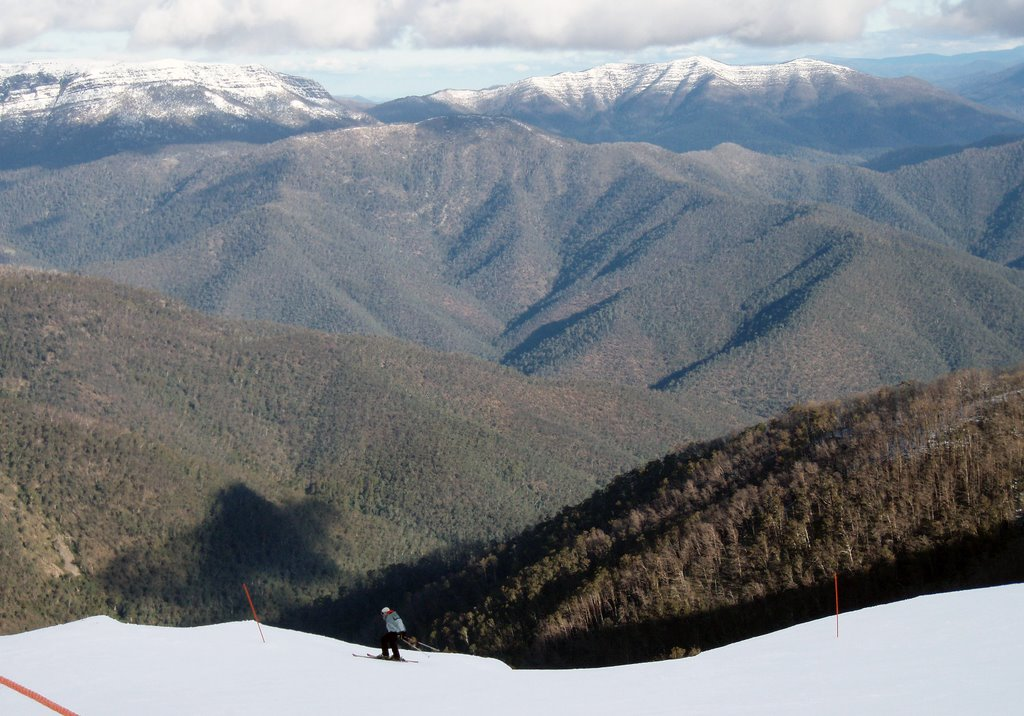 Mount Buller Alpine National Park View from Southern Slopes