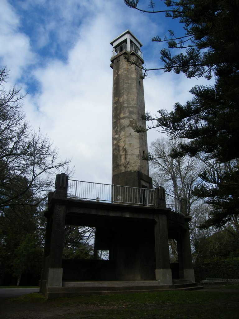 Wombat Hill Lookout Tower - Daylesford