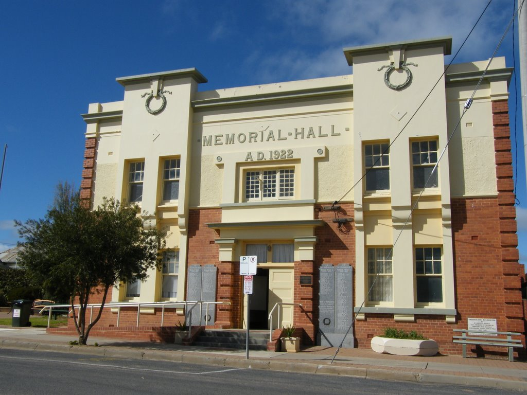 Memorial Hall - Hopetoun
