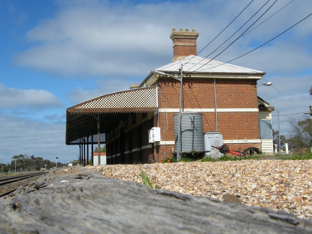 Rail Station - Warracknabeal