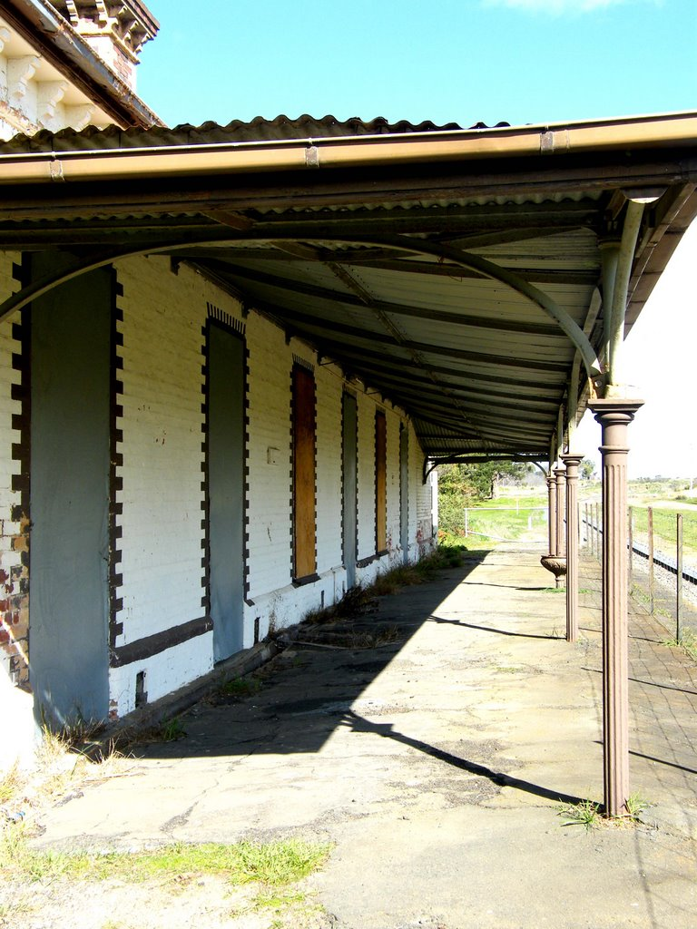 Rail Station - Clunes
