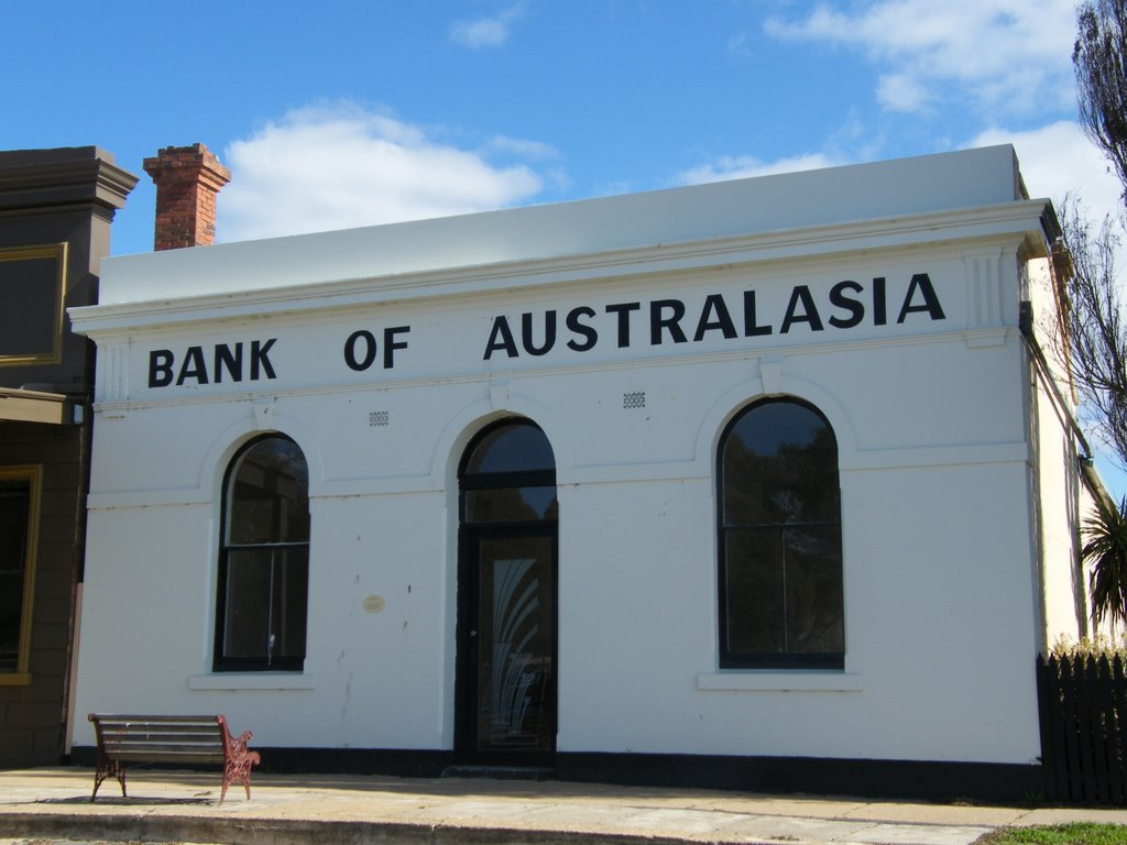 Bank of Australasia - Talbot