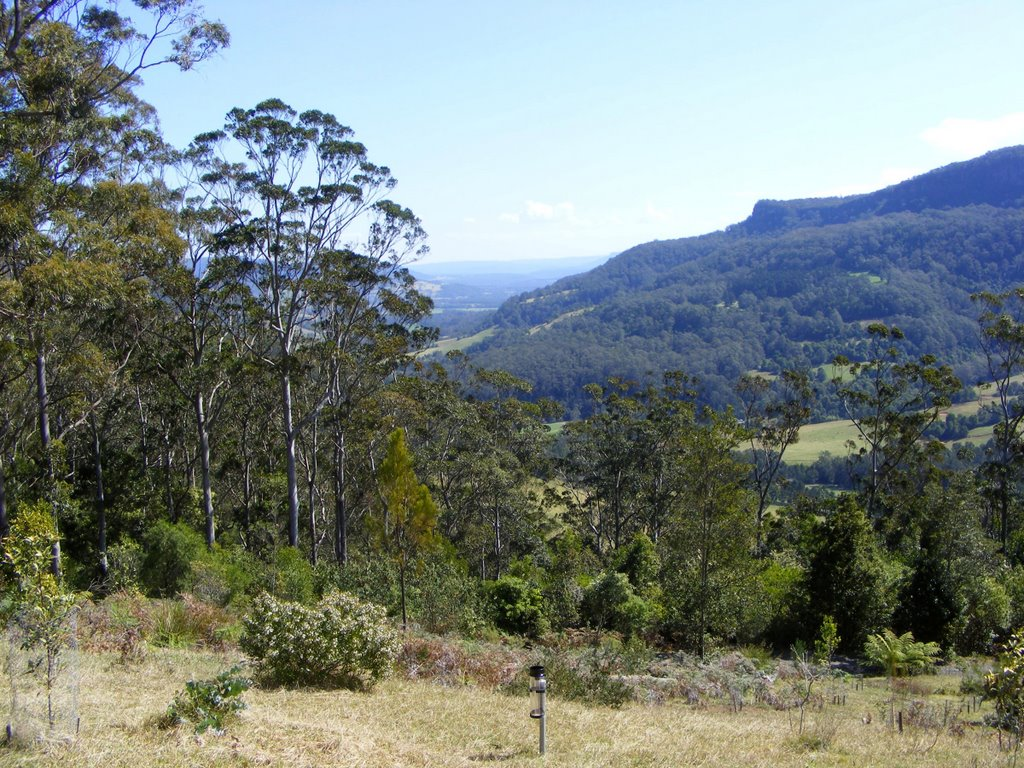 View over Watamolla and Kangaroo Valley