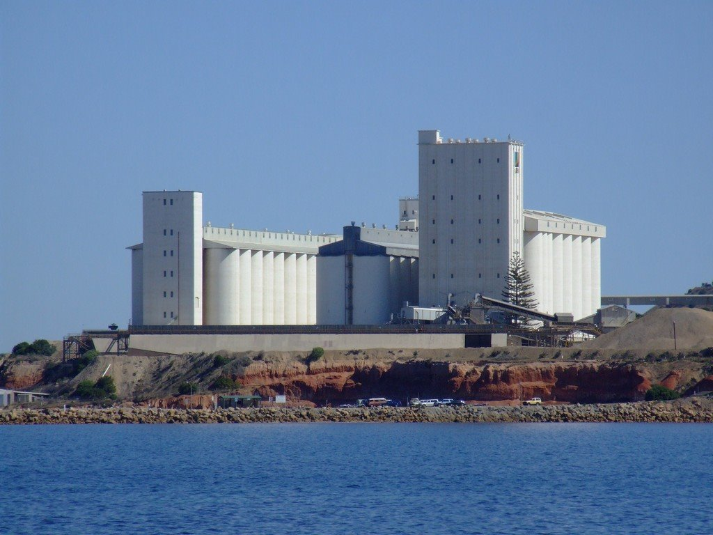 Ardrossan Wheat Silos