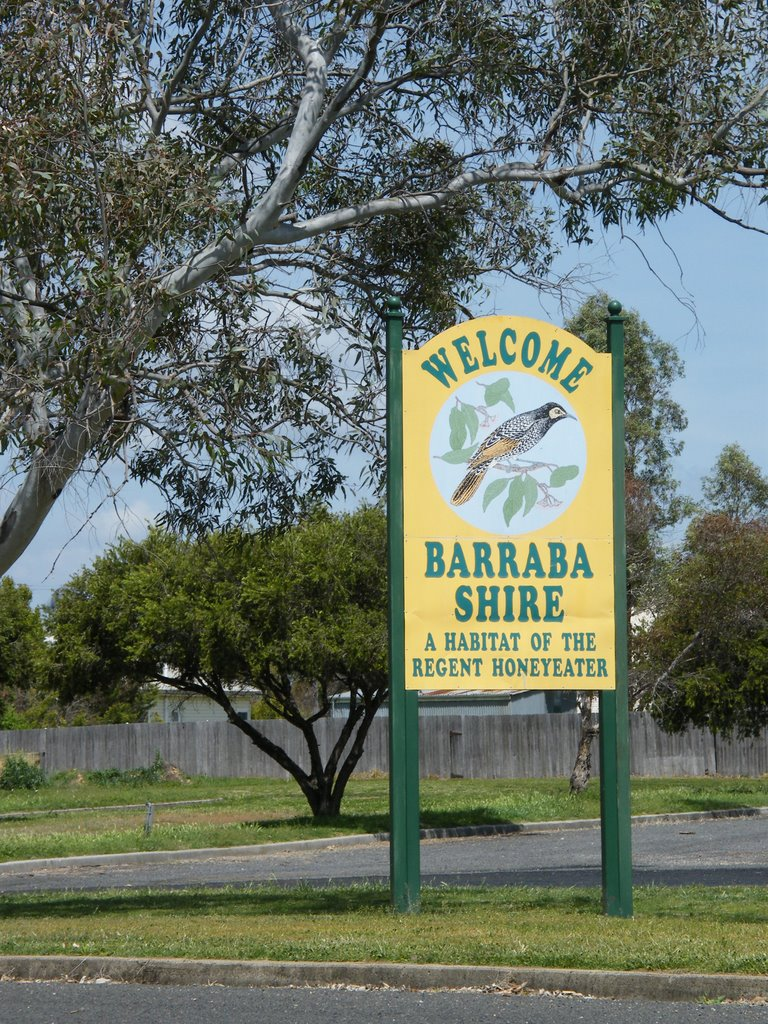Northern Welcome Sign - Barraba