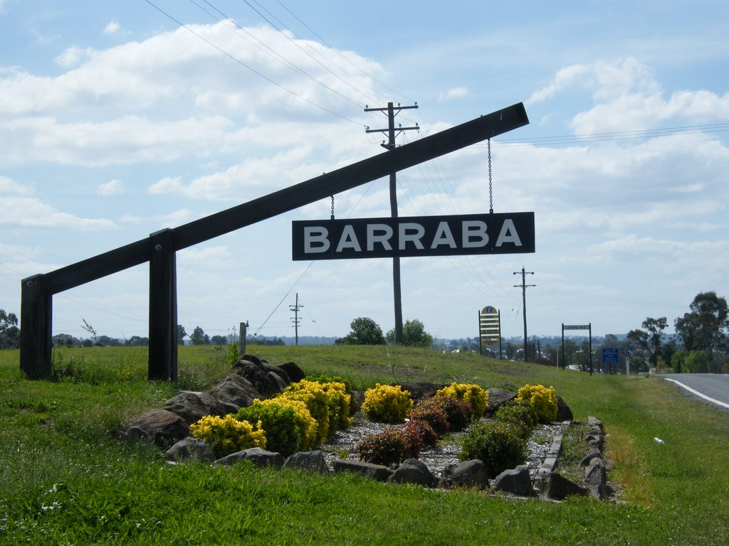 Southern Welcome Sign - Barraba