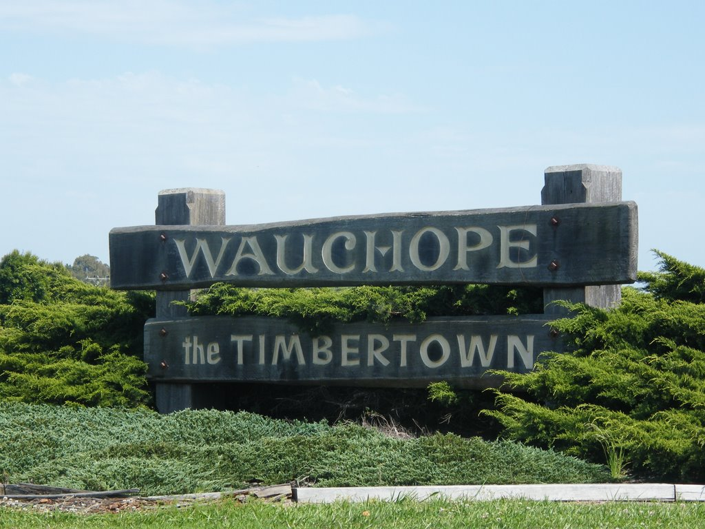 Welcome Sign - Wauchope
