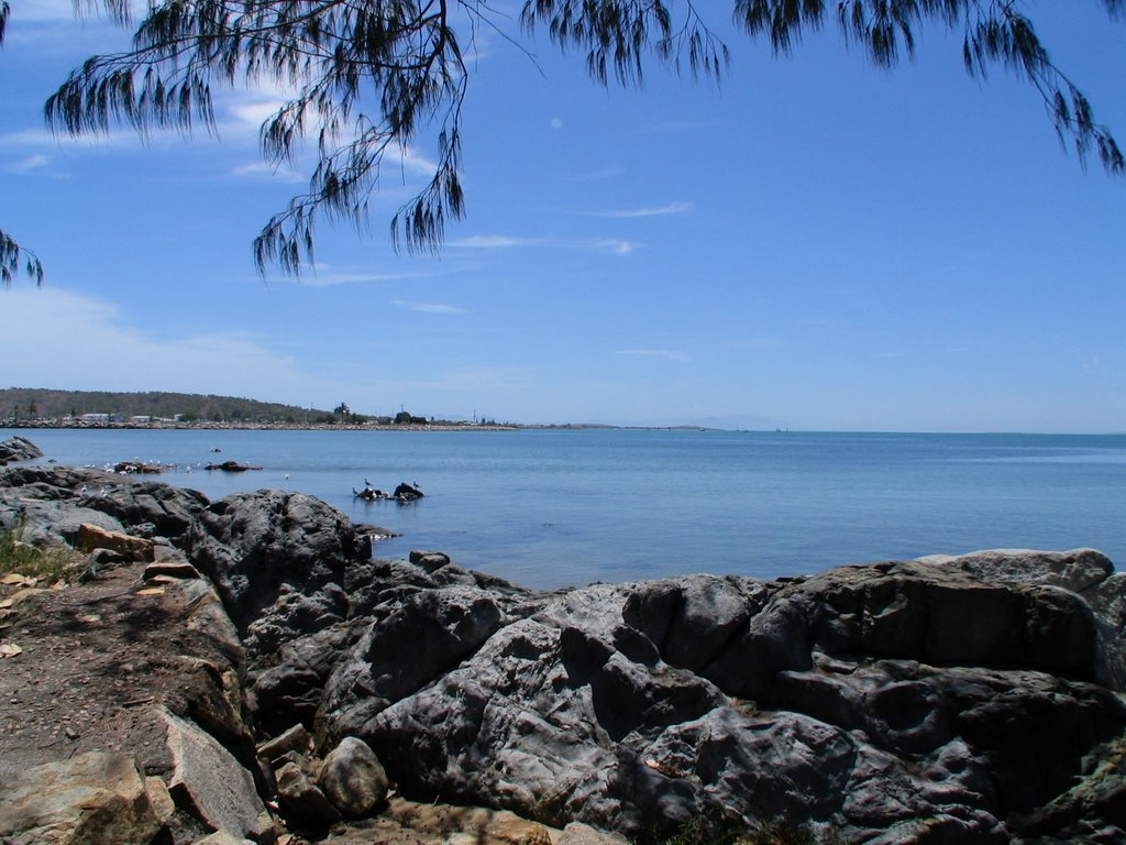 Wide-angle: Beautiful Bowen Bay