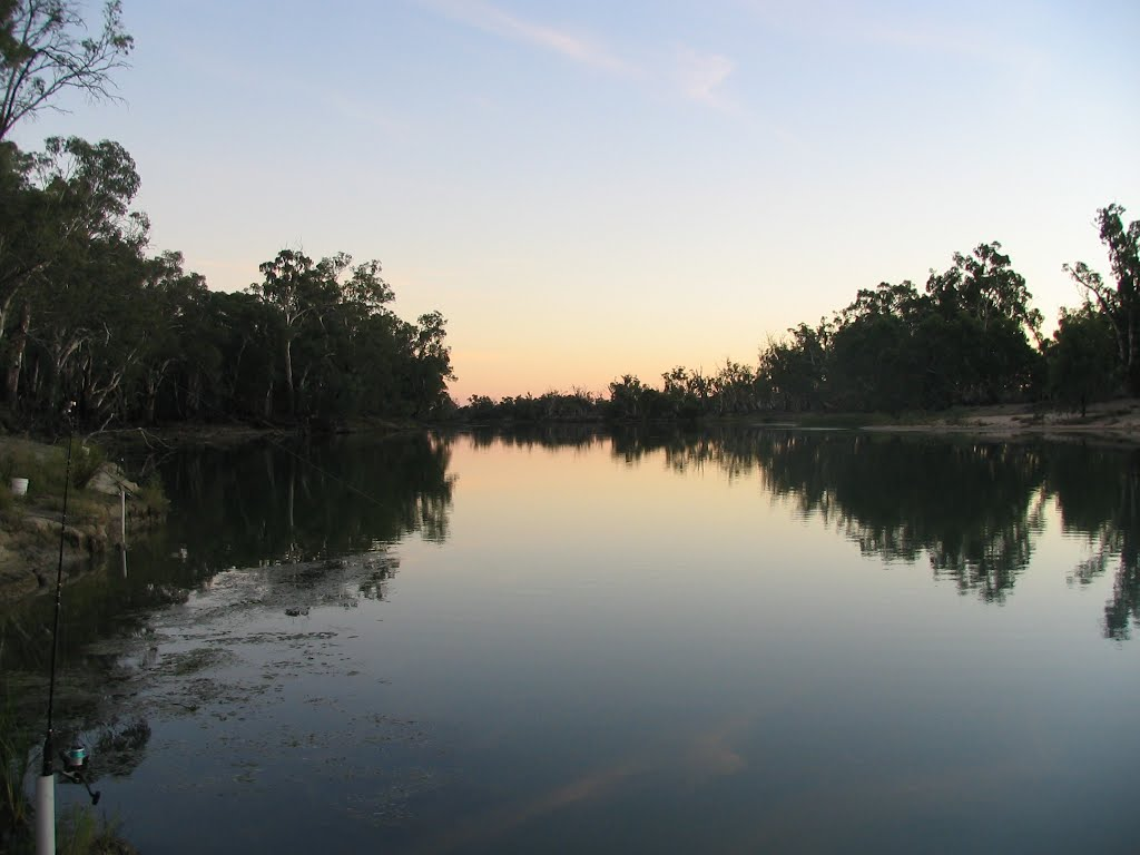 murray river- neds corner at 5am