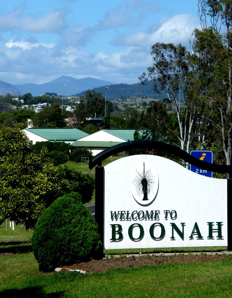 Welcome Sign - Boonah, Qld