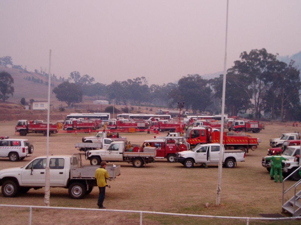 Swifts Creek Oval, 2006 Bushfires