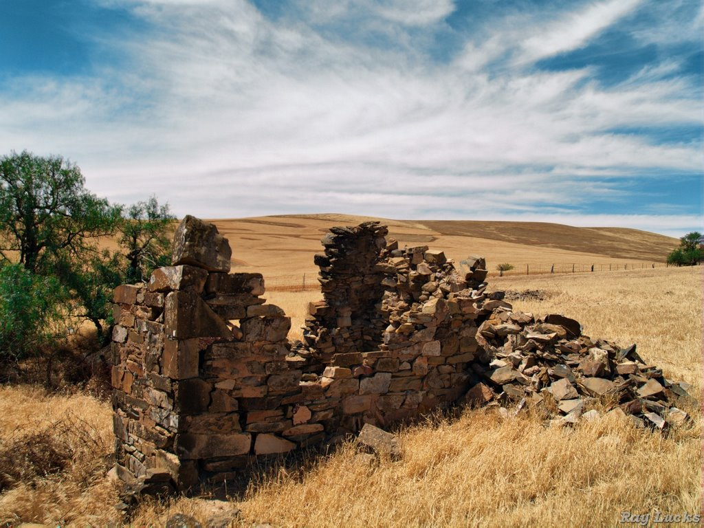 Burra S A - Ruins of an Old Miners Cottage settlement