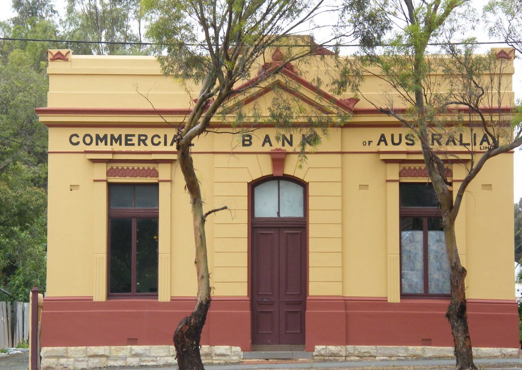 Commercial Bank of Australia - Rushworth