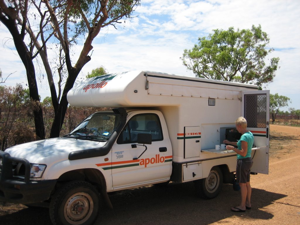Coffeestop near Halls Creek
