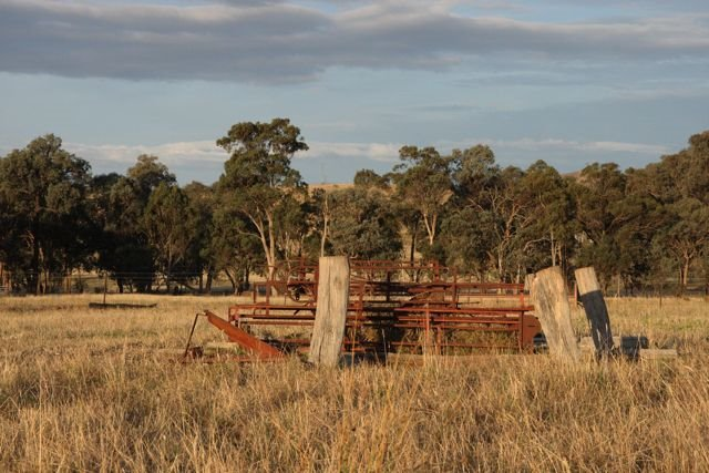Warrawee - Old Stuff Hay Shed Ruins