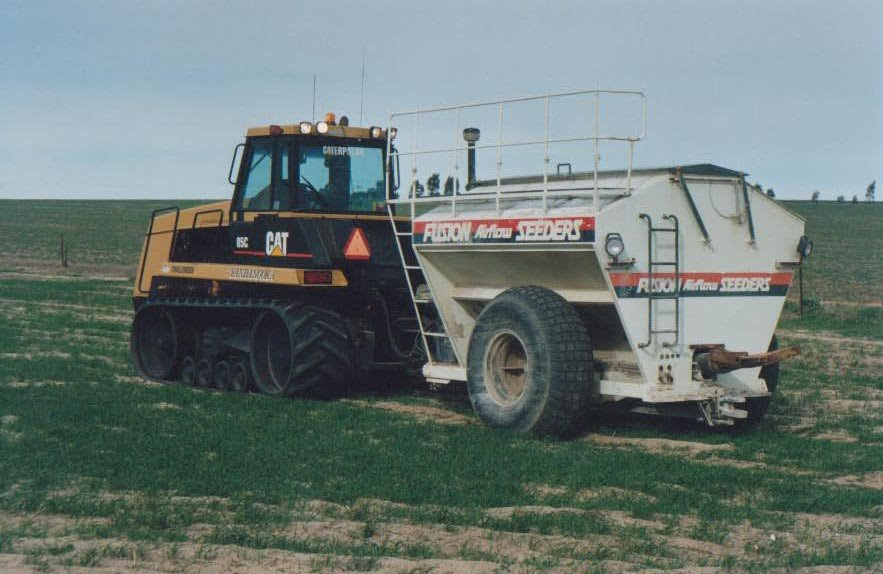Urea spreading