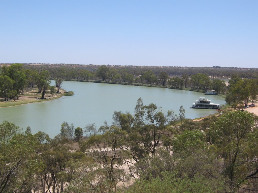 View Of Murray From Waikerie Lookout