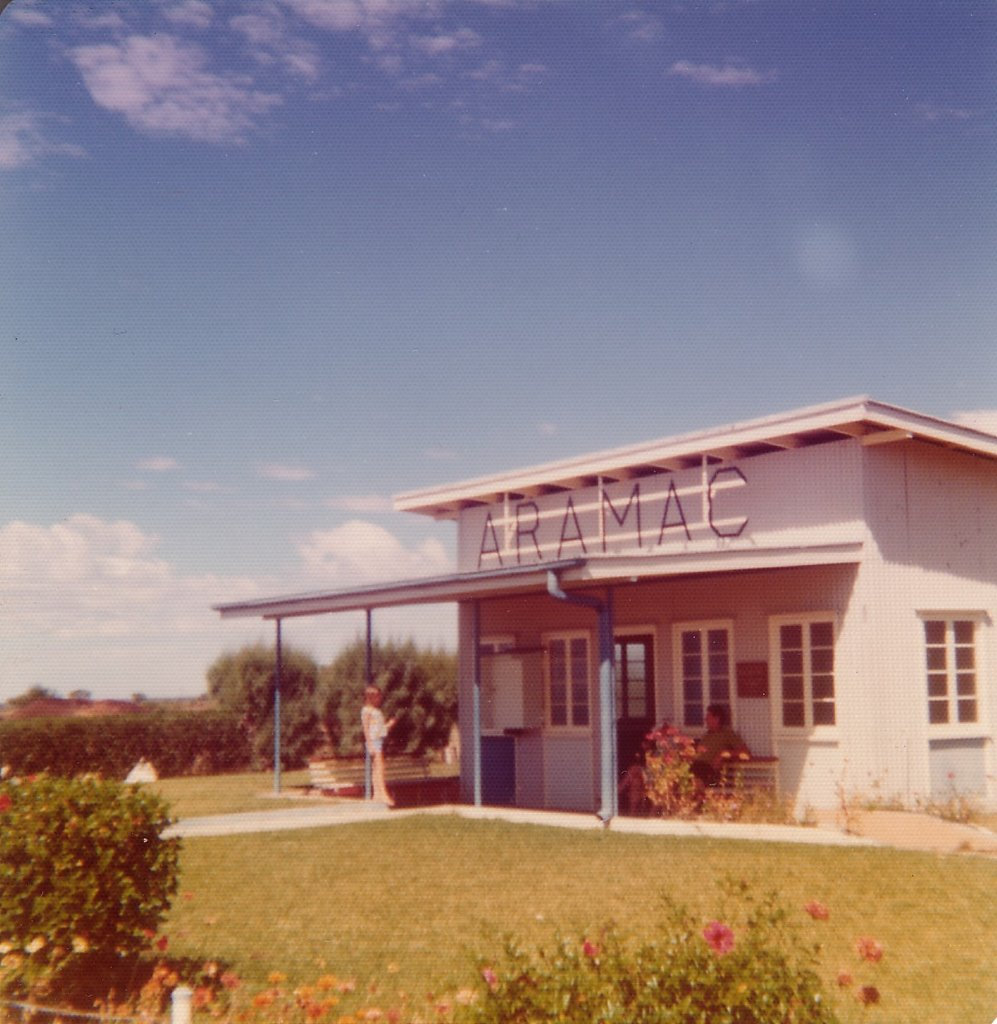 Aramac airport, March 1975