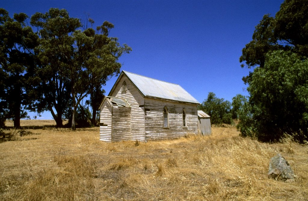 Old Church on the way to Yarrawonga, VIC, AUS