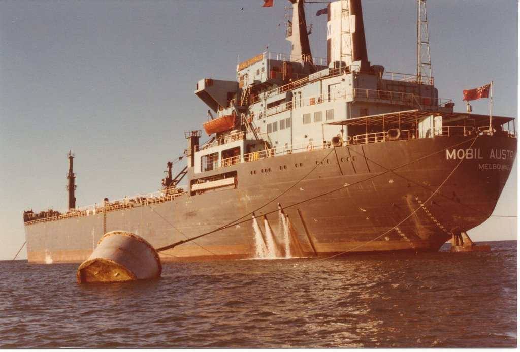 Mobil Australis Early 1982 Off King Island Bass Strait. No.2