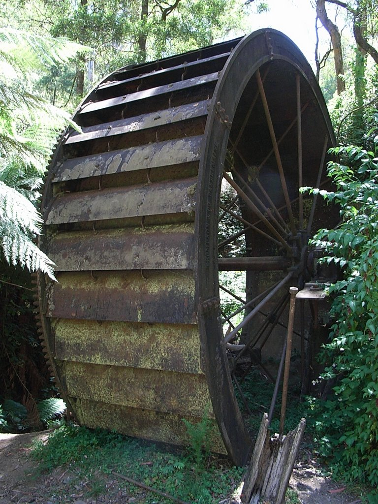 Morning Star Creek Waterwheel
