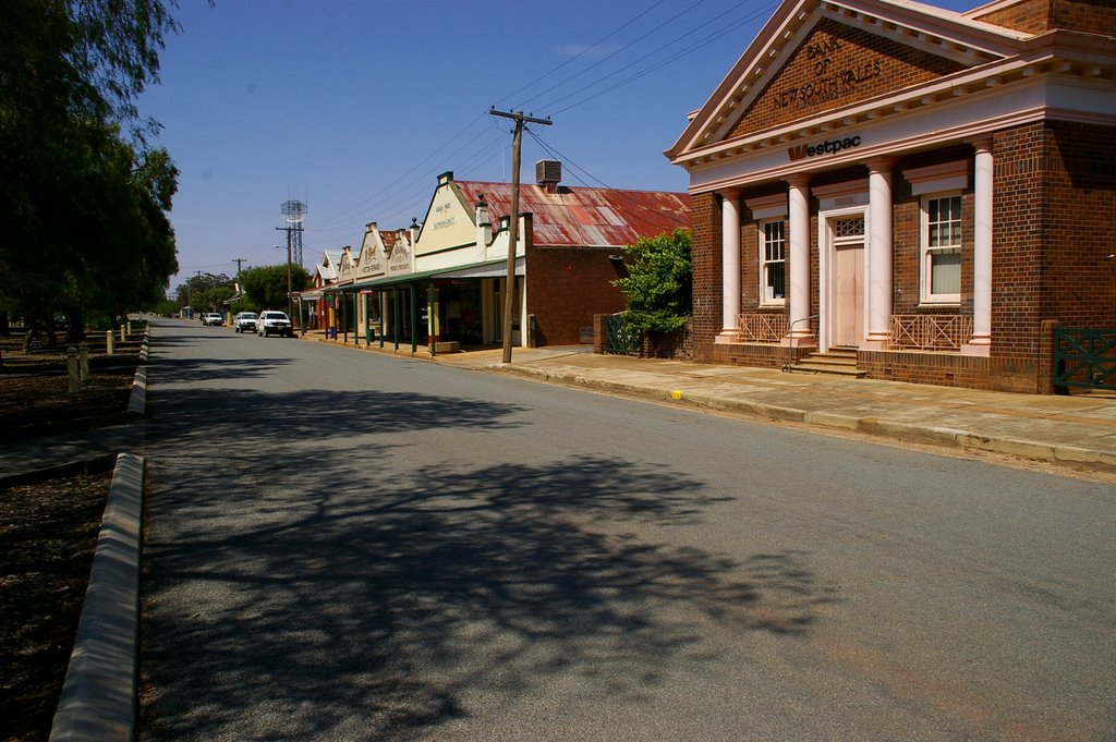 the main street, Ariah Park