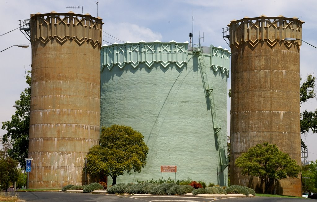Art Deco Water Towers, Leeton