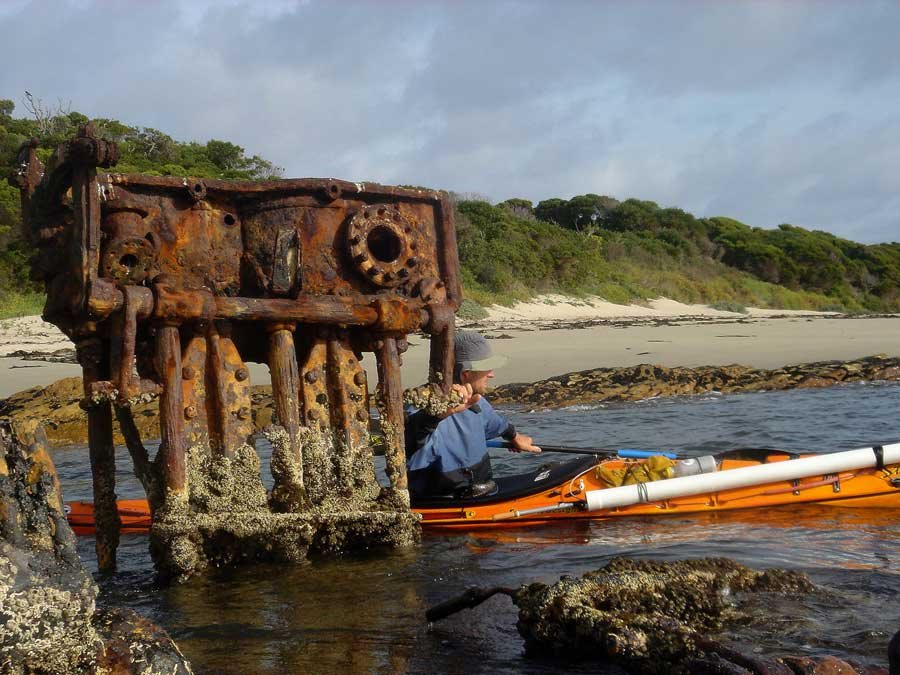 Wreck of the Colliboi